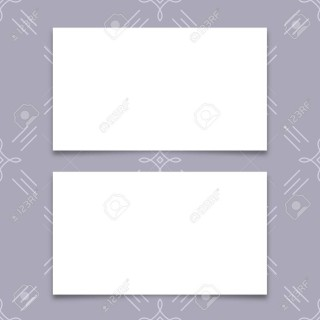 005 Fantastic Plain Busines Card Template Inspiration  White Free Download Blank Printable Word 2010320