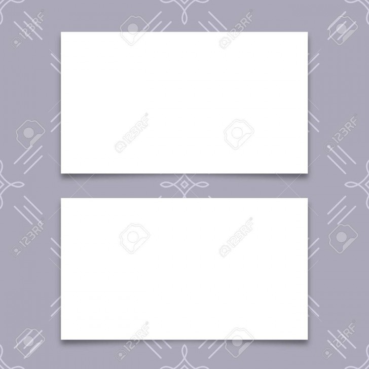 005 Fantastic Plain Busines Card Template Inspiration  White Free Download Blank Printable Word 2010728