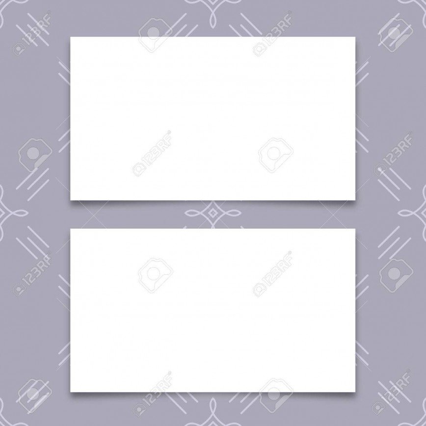 005 Fantastic Plain Busines Card Template Inspiration  White Free Download Blank Printable Word 2010868