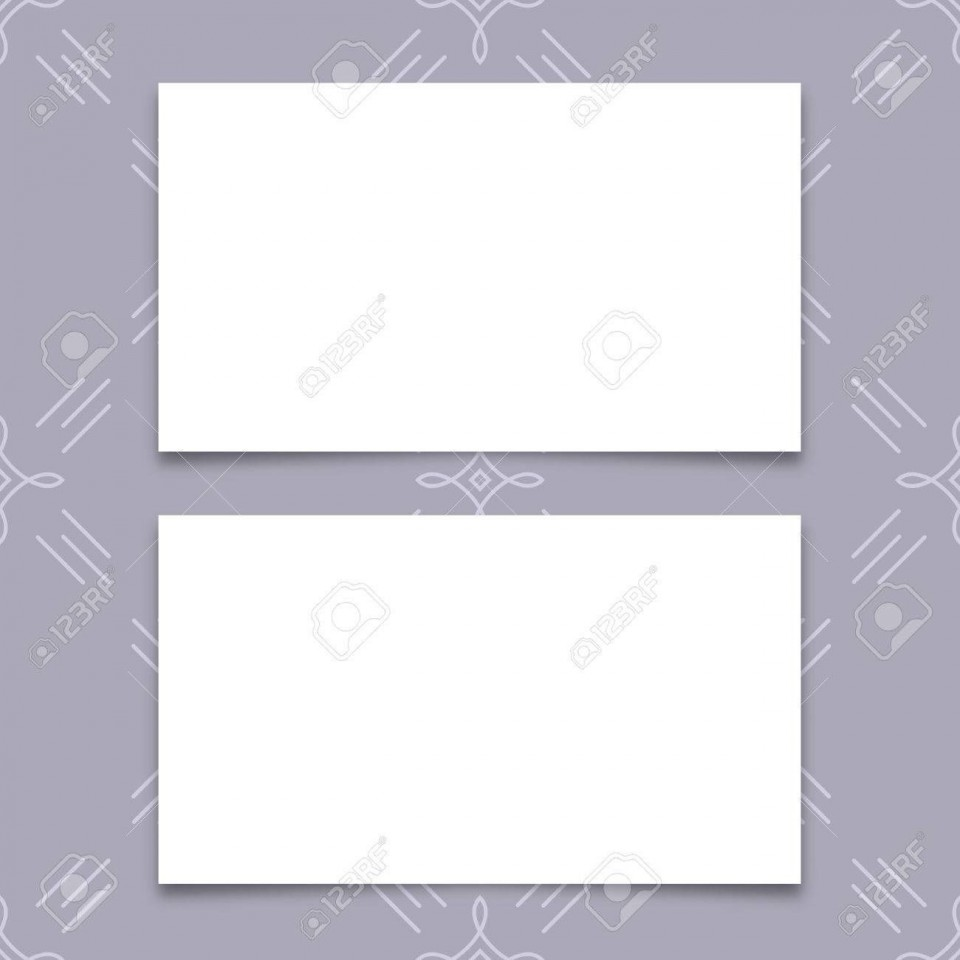 005 Fantastic Plain Busines Card Template Inspiration  White Free Download Blank Printable Word 2010960