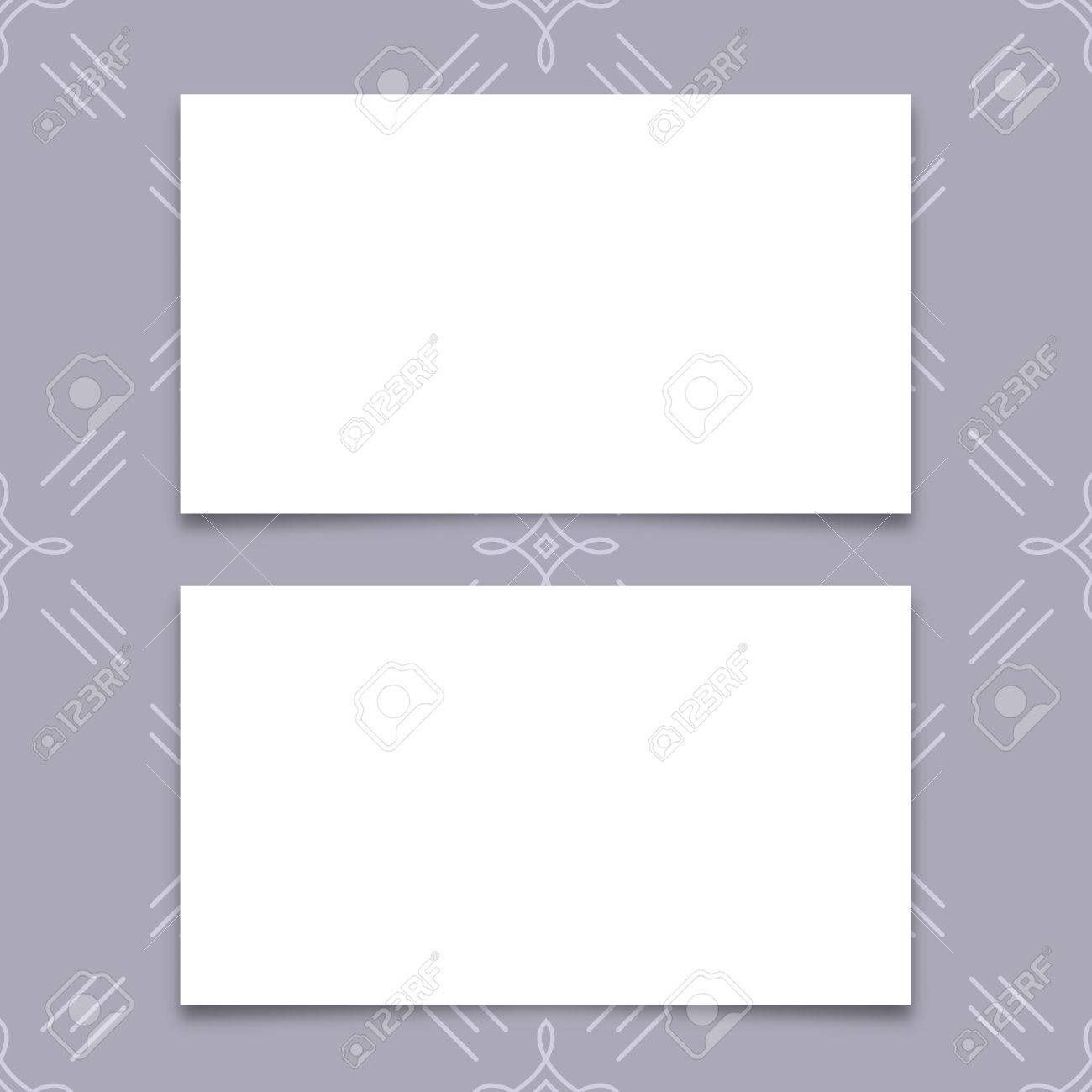 005 Fantastic Plain Busines Card Template Inspiration  White Free Download Blank Printable Word 2010Full