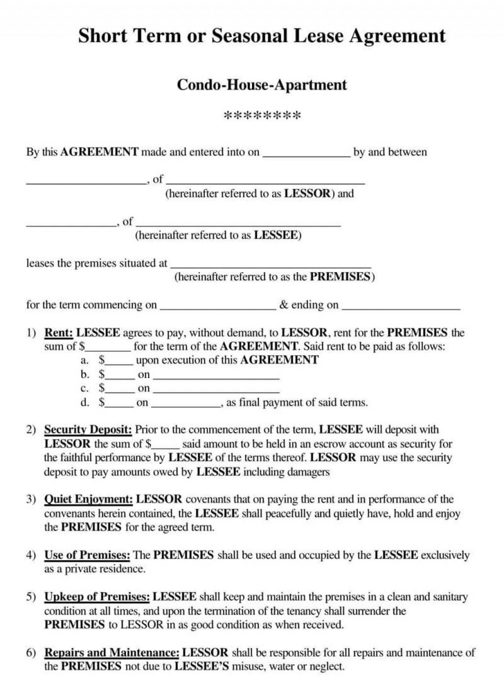 005 Fantastic Rental Lease Template Free Highest Quality  Agreement Sample Download Residential PrintableLarge