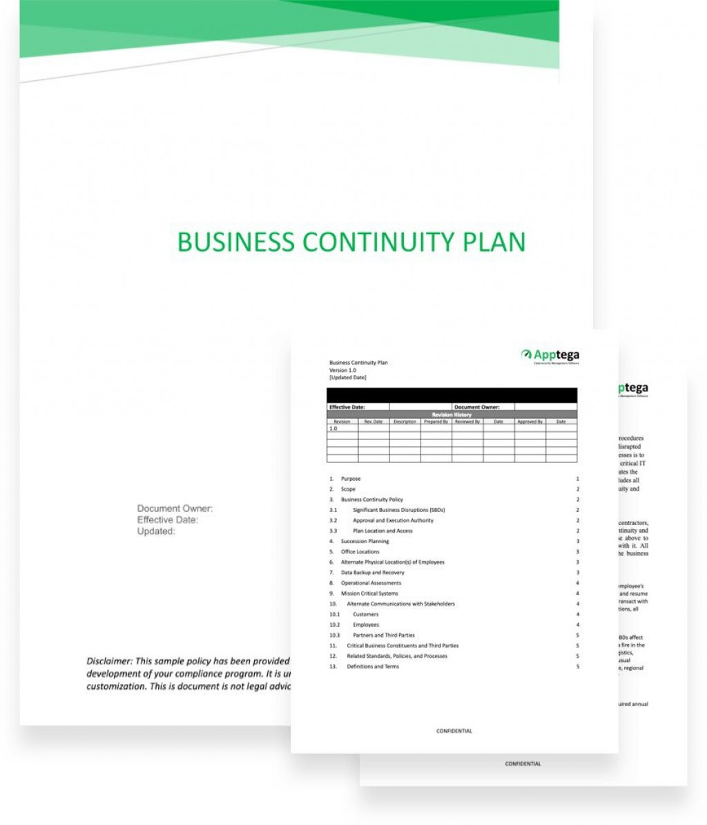 005 Fantastic Simple Busines Continuity Plan Template High Def  Australia Sample For Small Businesse Basic ExampleLarge