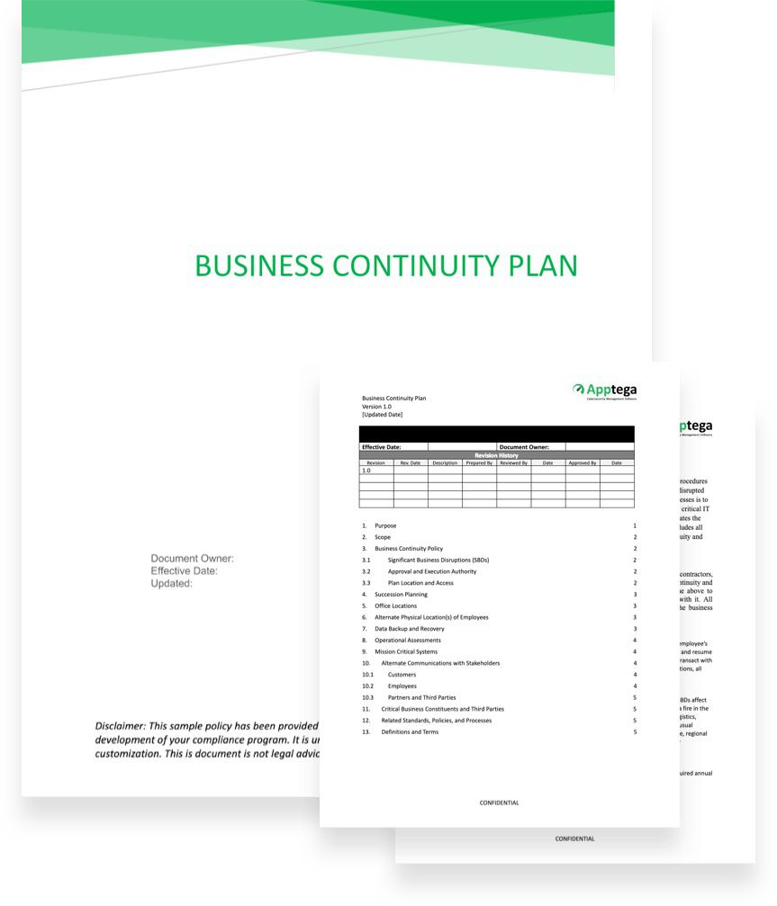 005 Fantastic Simple Busines Continuity Plan Template High Def  Australia Sample For Small Businesse Basic ExampleFull