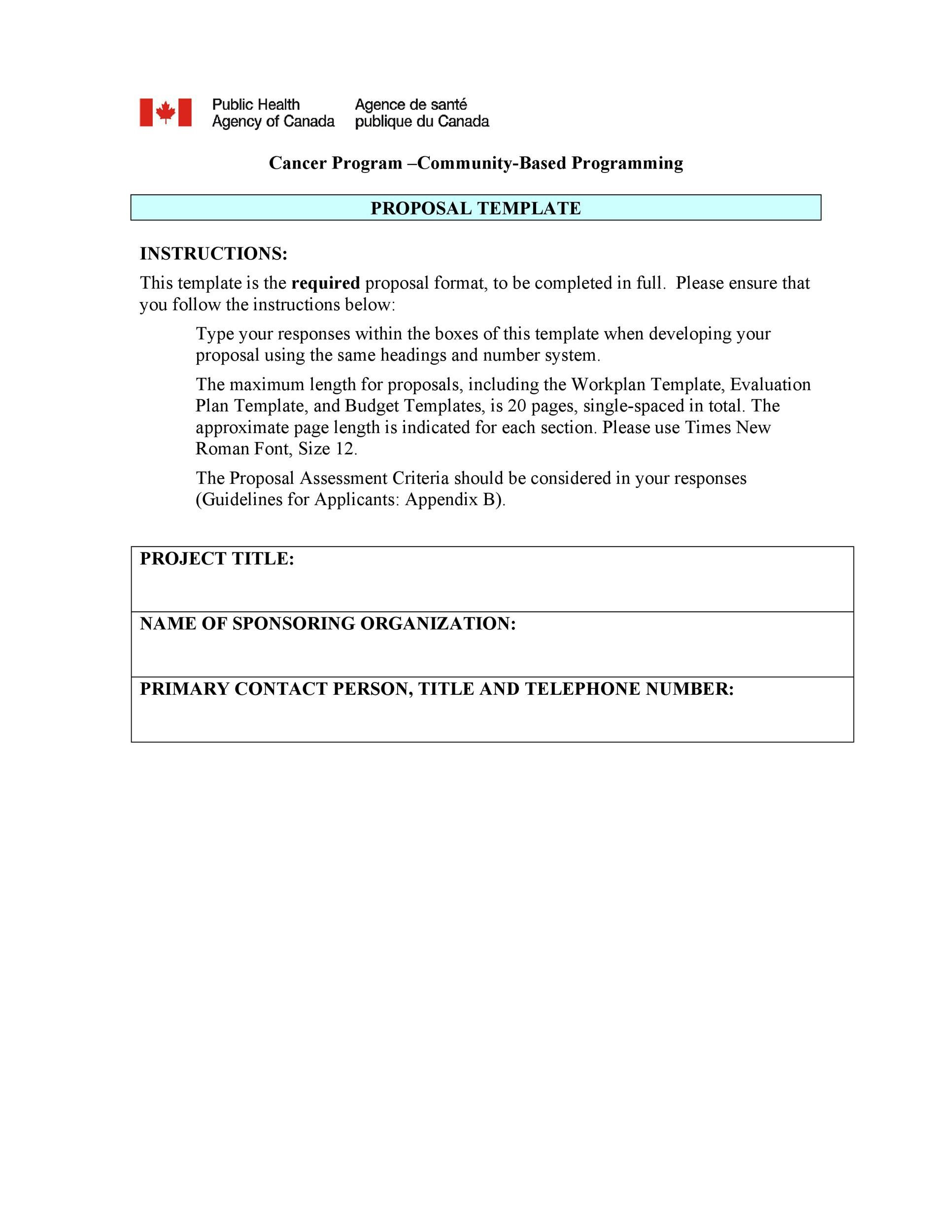 005 Fantastic Simple Busines Proposal Template Highest Quality  Example Word Doc Basic Plan FreeFull