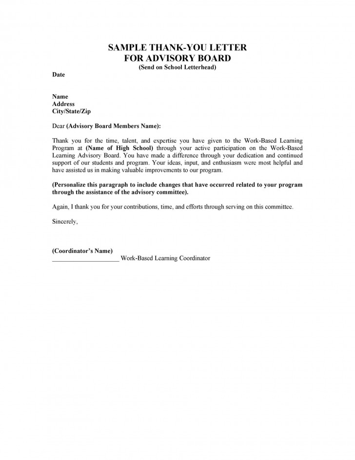 005 Fantastic Thank You Letter Template High Def  Donation Word Printable Format Pdf728