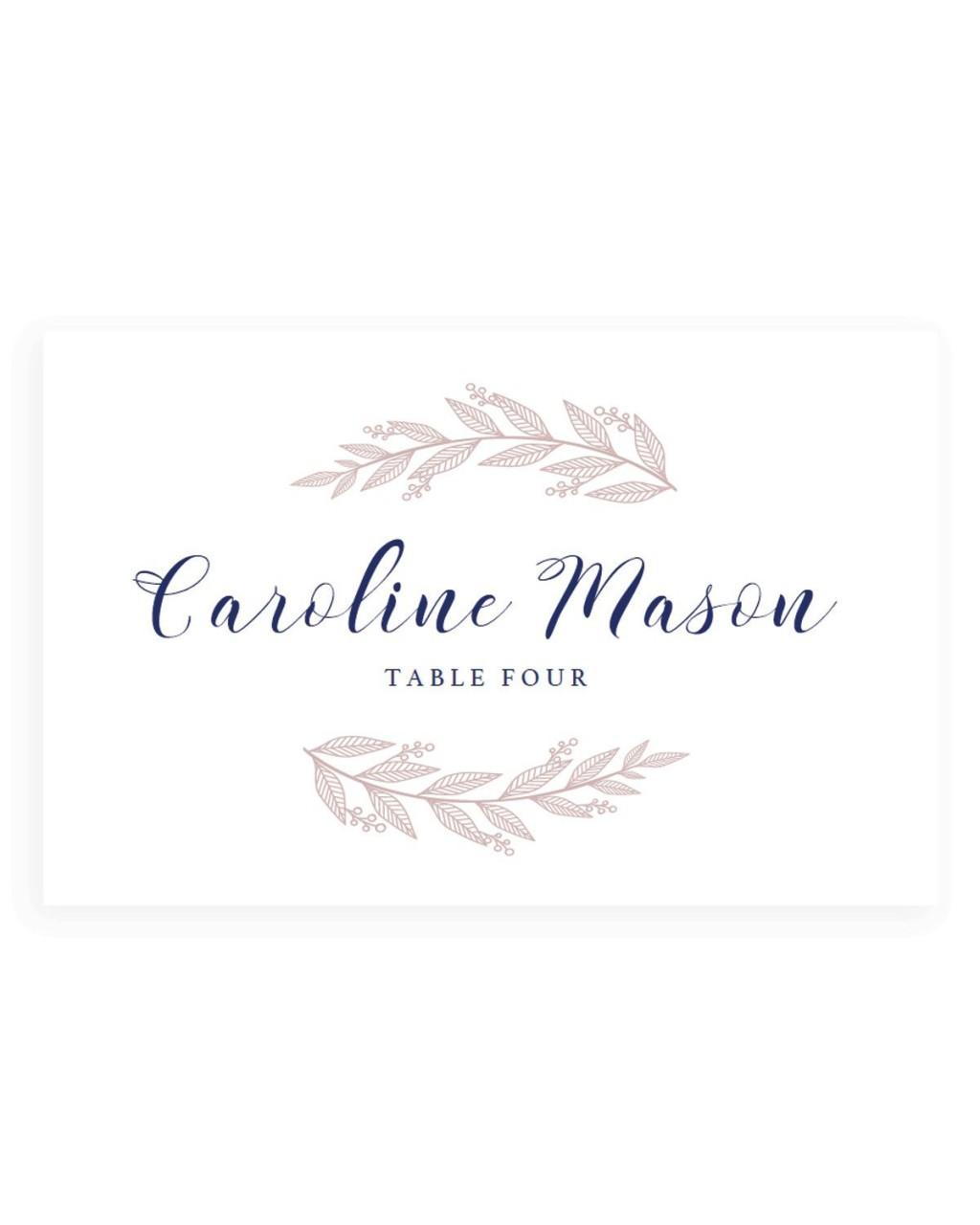 005 Fantastic Wedding Name Card Template Example  Free Download Design Sticker FormatLarge