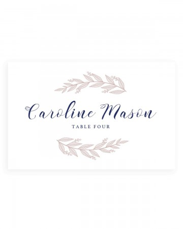 005 Fantastic Wedding Name Card Template Example  Free Download Design Sticker Format360