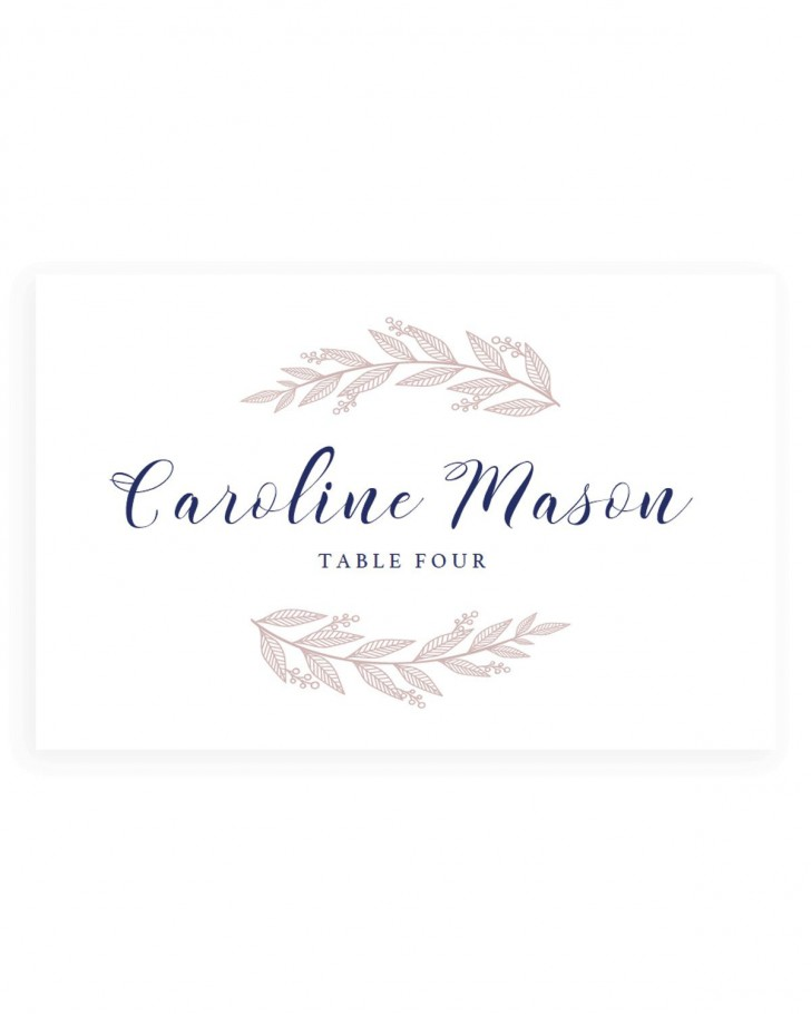 005 Fantastic Wedding Name Card Template Example  Free Download Design Sticker Format728
