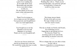 005 Fantastic Wedding Thank You Note Template High Resolution  Shower Gift Present Bridal Sample