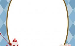 005 Fascinating Alice In Wonderland Invitation Template Download Design  Free