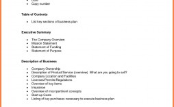 005 Fascinating Basic Busines Plan Template Concept  Simple Word Download Easy Free Australia