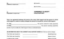 005 Fascinating Child Support Agreement Template Sample  Australia Bc Alberta