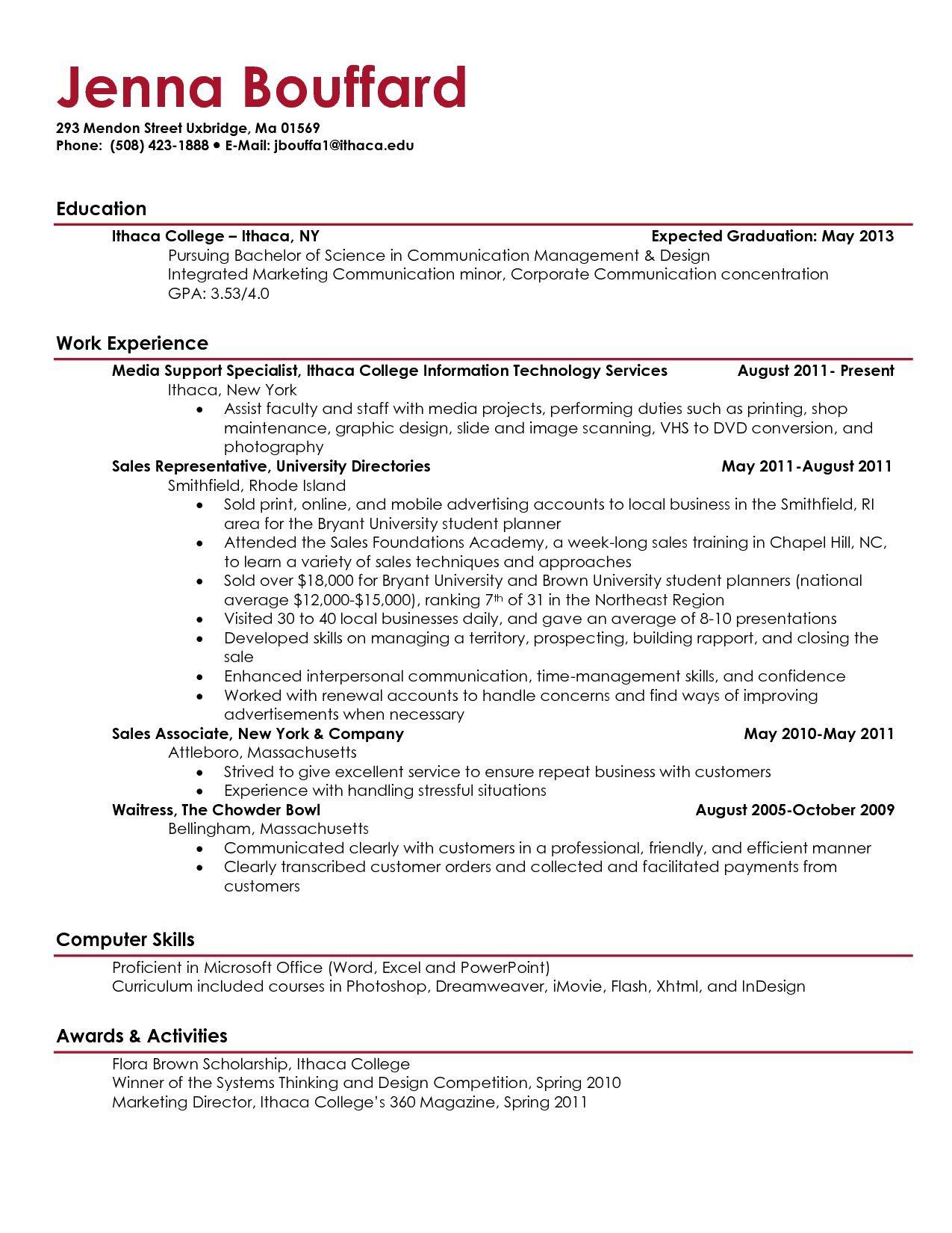 005 Fascinating College Graduate Resume Template Design  Templates Grad Example Recent ObjectiveFull