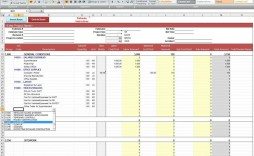 005 Fascinating Construction Estimating Spreadsheet Template Picture  Example Estimate Free Cost
