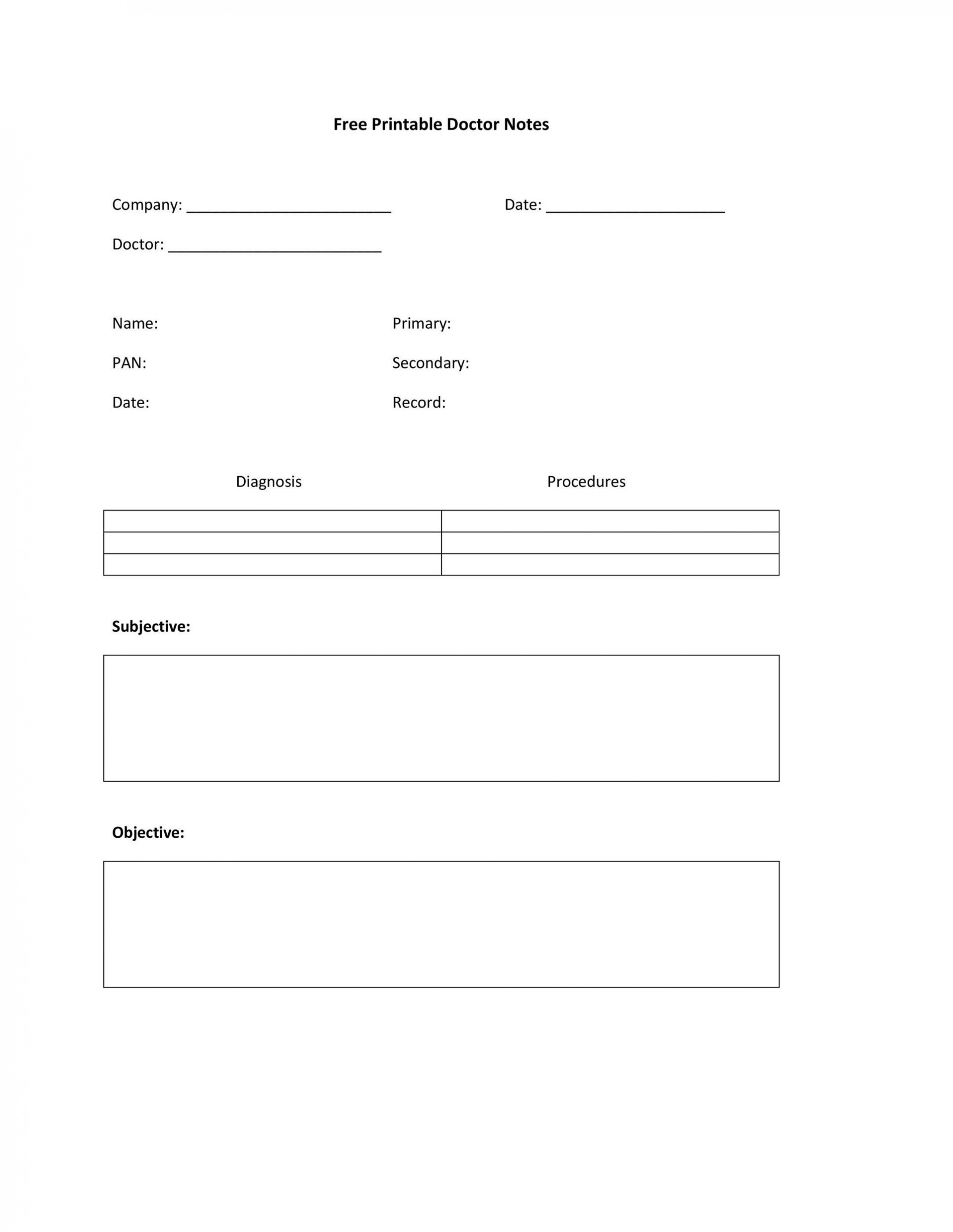 005 Fascinating Doctor Note Template Free Download Idea  Fake1920