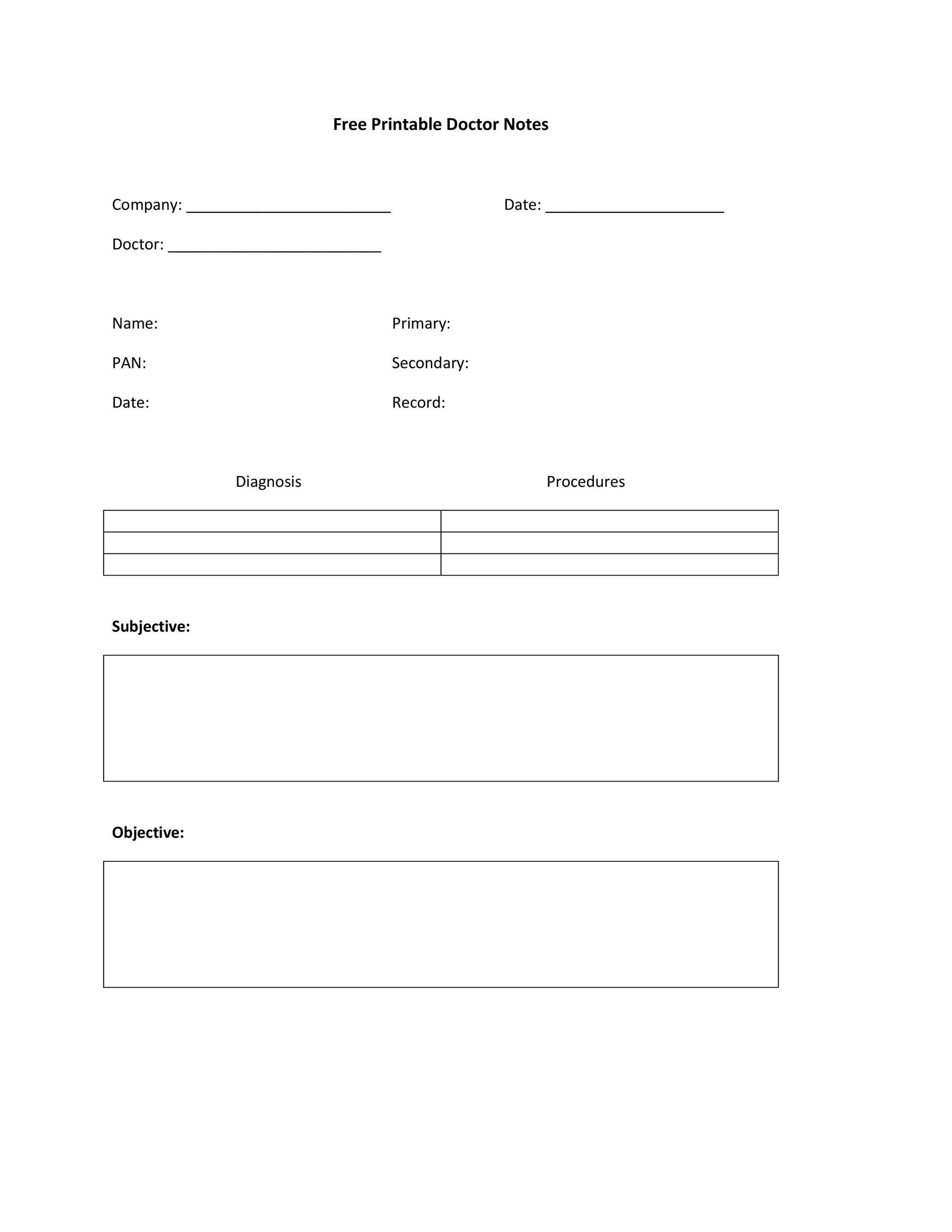 005 Fascinating Doctor Note Template Free Download Idea  FakeFull