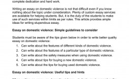 005 Fascinating Domestic Violence Essay High Definition  Persuasive Topic Question