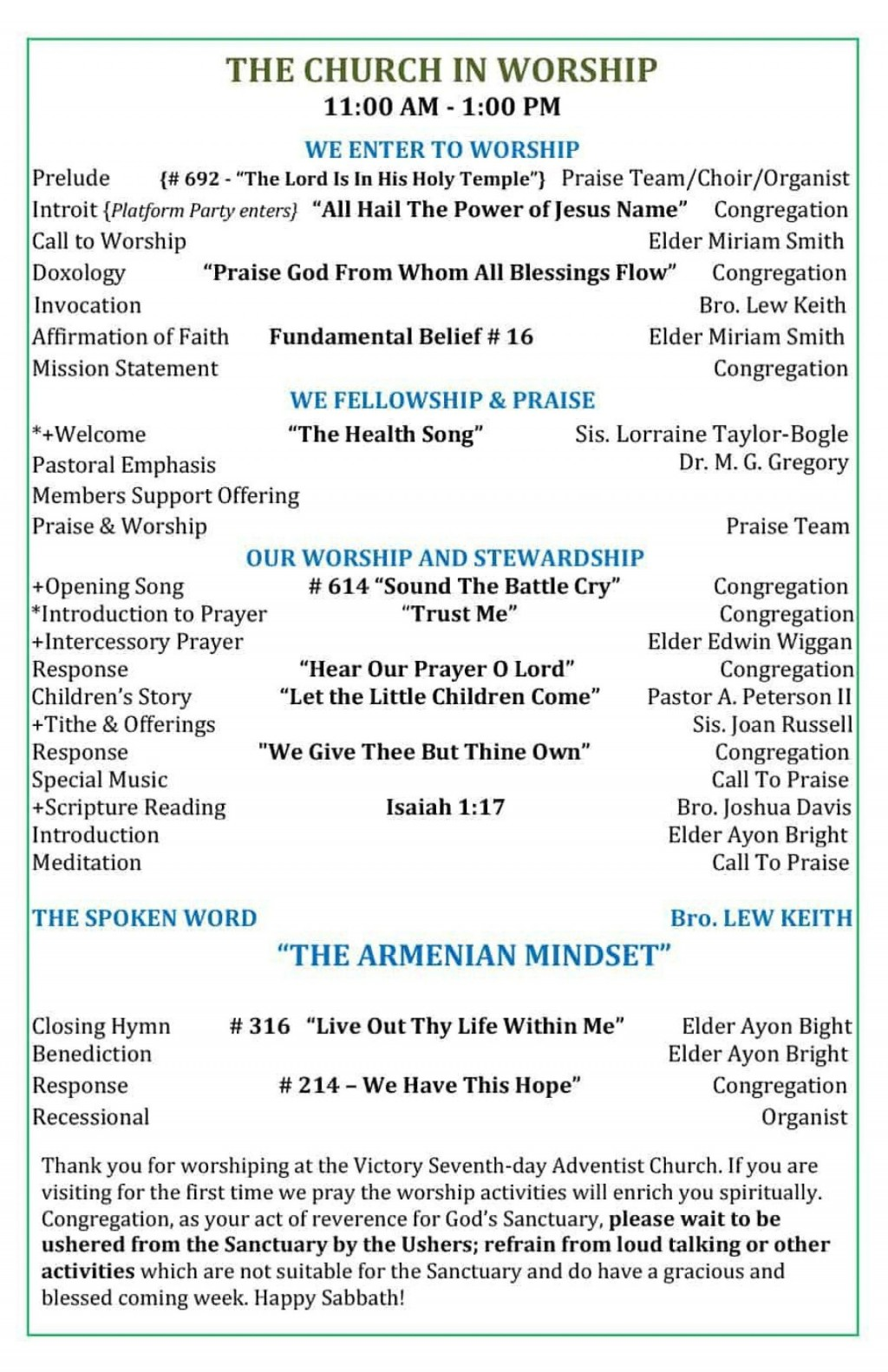 005 Fascinating Free Church Program Template Doc High Resolution Large