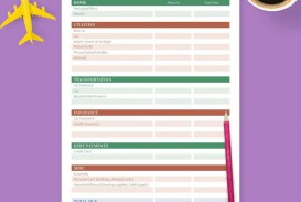 005 Fascinating Free Monthly Budget Template Inspiration  Household Excel Expense Report Download