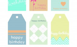 005 Fascinating Free Printable Thank You Gift Tag Template Photo  Templates