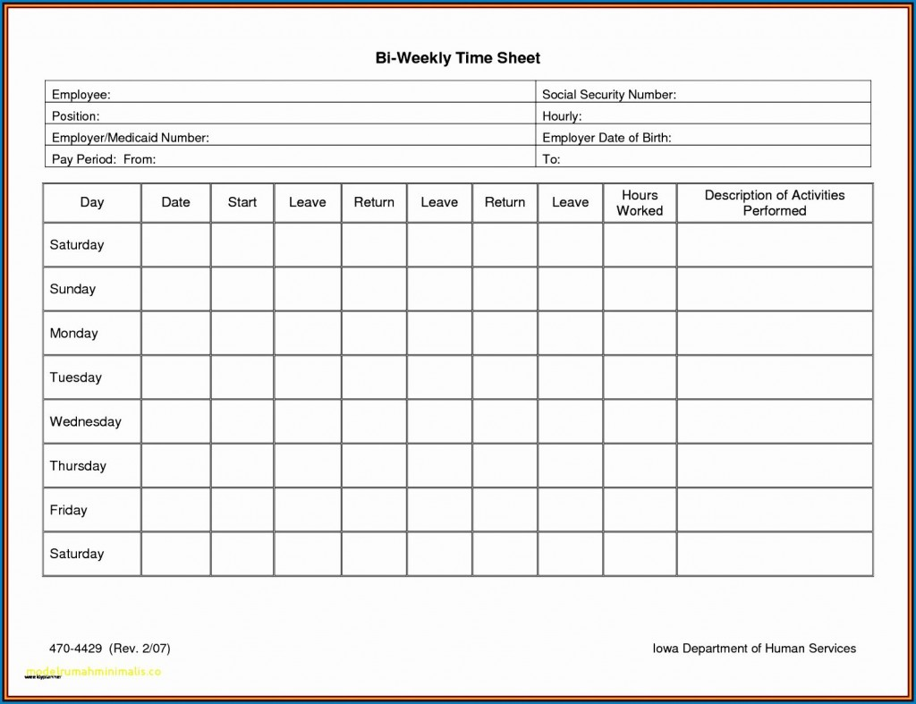 005 Fascinating Free Weekly Timesheet Template Sample  For Multiple Employee Biweekly Excel With FormulaLarge