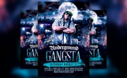 005 Fascinating Hip Hop Flyer Template Highest Clarity  Templates Hip-hop Party Free Download