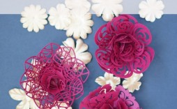 005 Fascinating Paper Flower Template Free Sample  Large Extra Printable