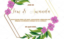 005 Fascinating Printable Wedding Invitation Template Concept  Templates Etsy Free For Microsoft Word