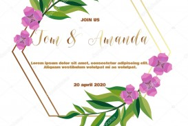 005 Fascinating Printable Wedding Invitation Template Concept  Free For Microsoft Word Vintage