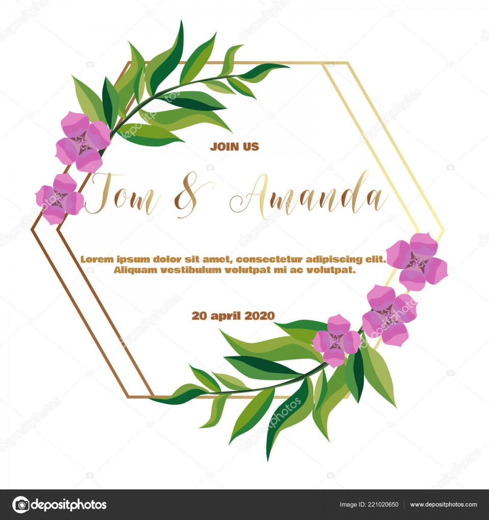005 Fascinating Printable Wedding Invitation Template Concept  Free For Microsoft Word Vintage960