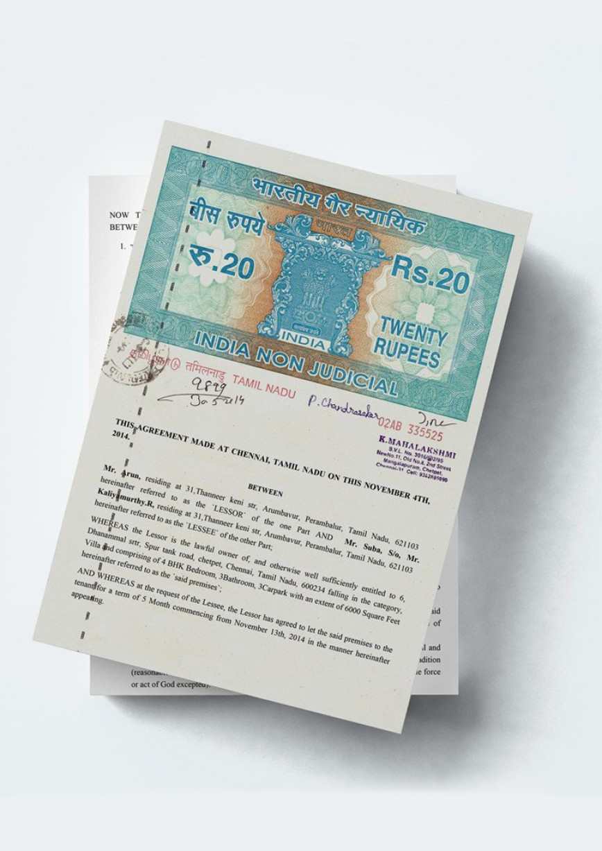 005 Fascinating Rent Lease Agreement Format India Photo  Rental Hyderabad Doc Stamp Paper