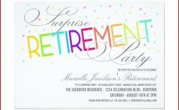 005 Fascinating Retirement Party Invitation Template Free Word Sample  M