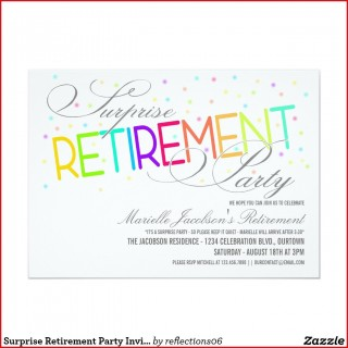 005 Fascinating Retirement Party Invitation Template Free Word Sample  M320