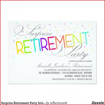 005 Fascinating Retirement Party Invitation Template Free Word Sample  M360