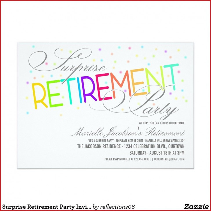 005 Fascinating Retirement Party Invitation Template Free Word Sample  M728