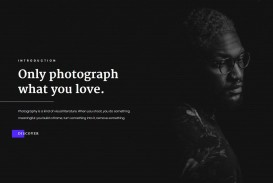 005 Fascinating Web Template For Photographer Image  Photography