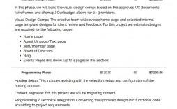 005 Fascinating Website Development Proposal Format Sample  Web Template Pdf Ecommerce
