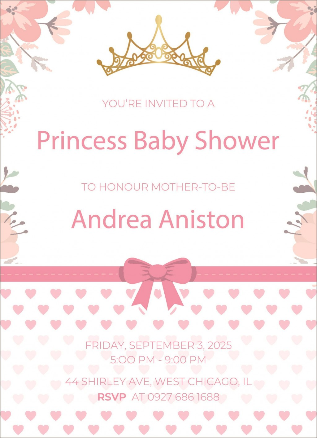 005 Fearsome Baby Shower Announcement Template High Resolution  Templates Invitation India Indian Free With PhotoLarge