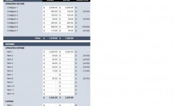 005 Fearsome Busines Plan Budget Template Example  Free Excel