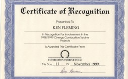 005 Fearsome Certificate Of Recognition Template Word Image  Award Microsoft Free