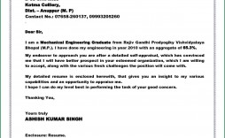 005 Fearsome Cover Letter Sample Template For Fresh Graduate In Marketing Concept
