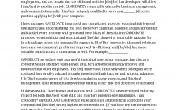 005 Fearsome Free Reference Letter Template For Employment Example  Word