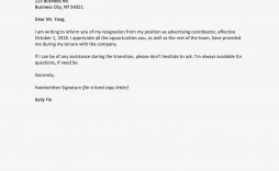 005 Fearsome Letter Of Resignation Template Free High Resolution  Pdf Sample