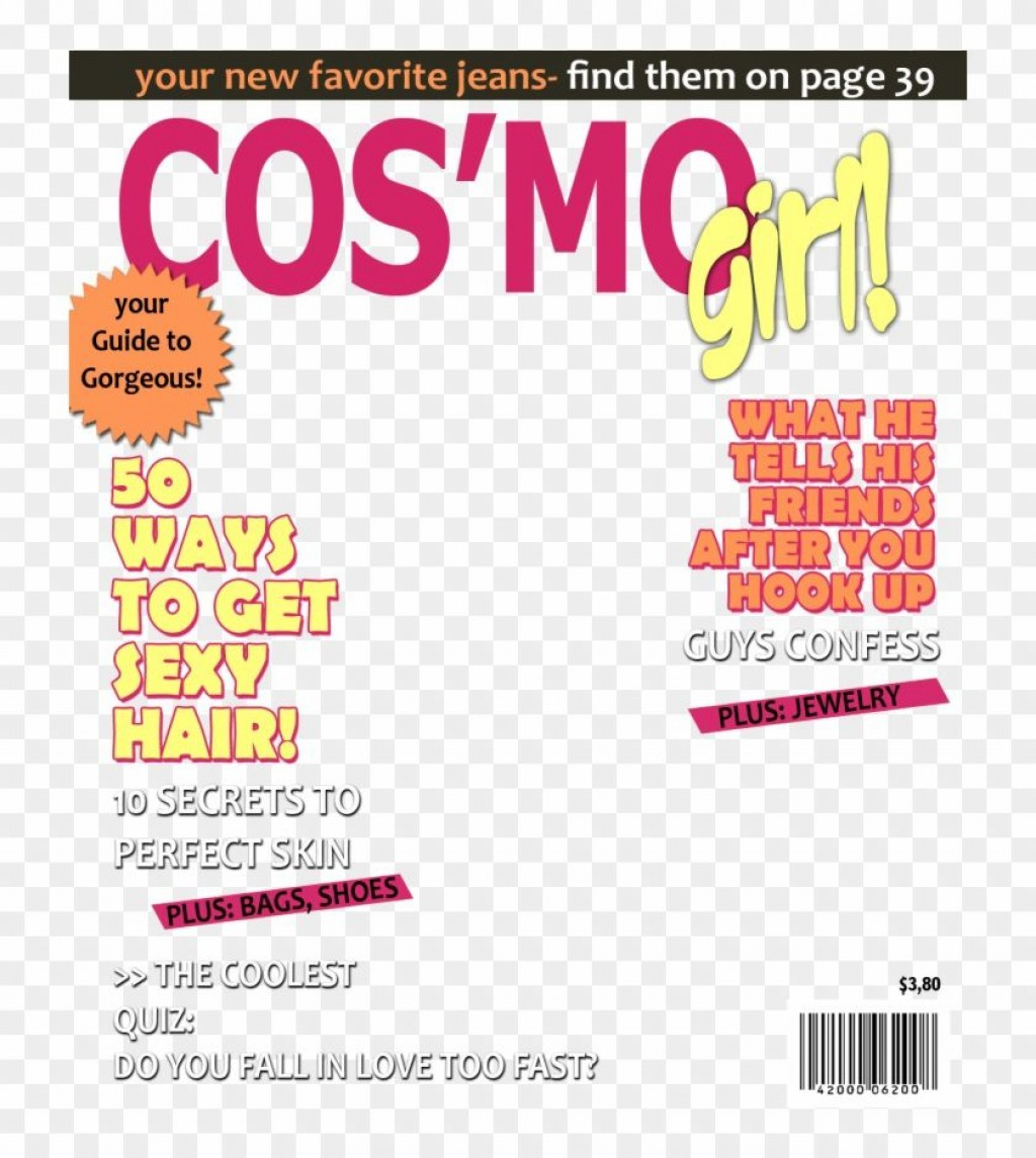 005 Fearsome Magazine Cover Template Free High Resolution  PersonalizedLarge