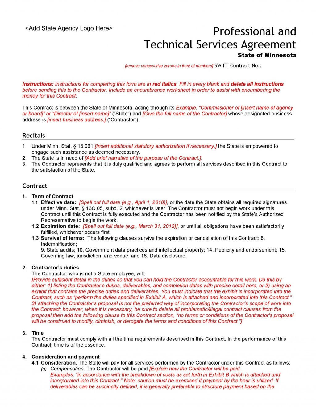 005 Fearsome Professional Service Agreement Template Sample  Uk Free AustraliaLarge