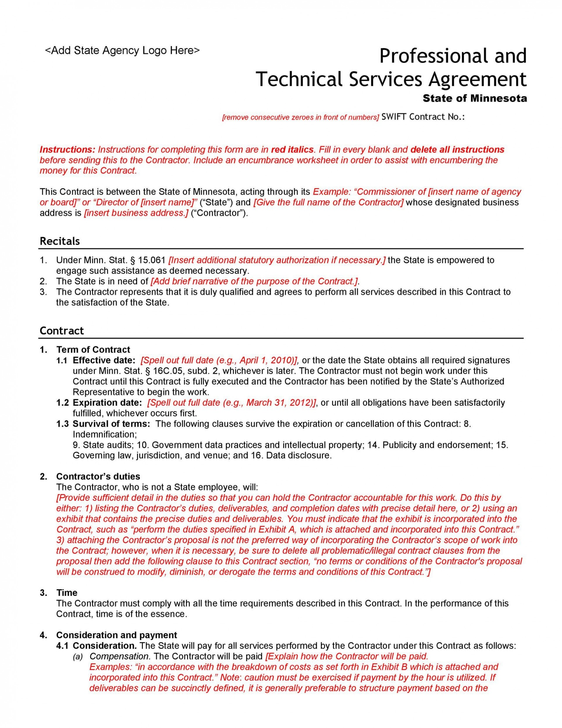 005 Fearsome Professional Service Agreement Template Sample  Uk Free Australia1920