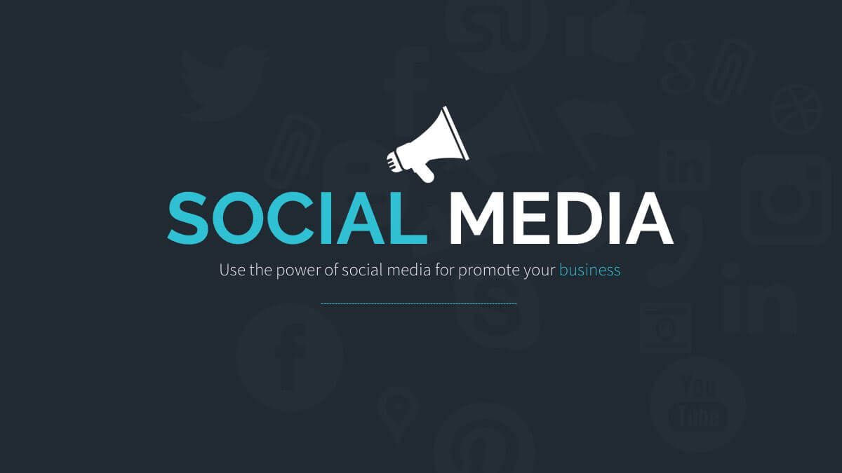 005 Fearsome Social Media Powerpoint Template Free High Resolution  Strategy Trend 2017 - ReportFull