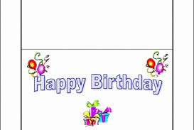 005 Fearsome Template For Birthday Card Photo  Microsoft Word Design Happy