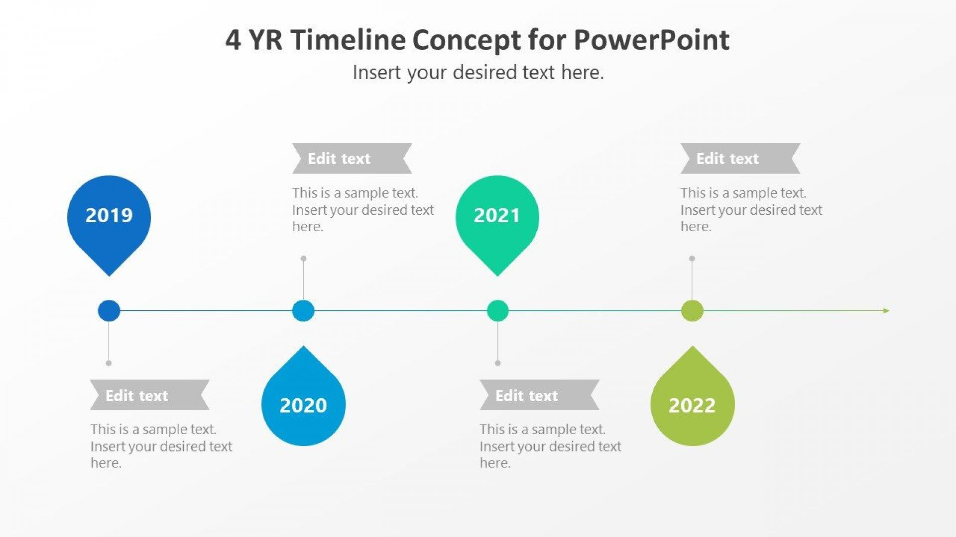 005 Fearsome Timeline Template Pptx Free Highest Quality 1920